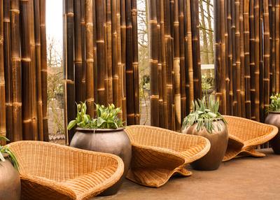 Modernes Terrassen-Ambiente