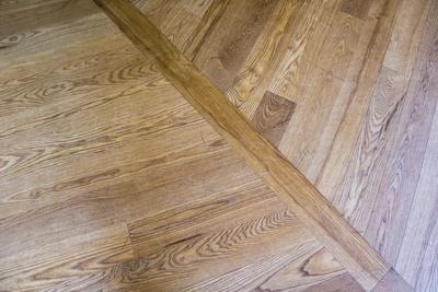 Echter Holzboden mit Charme